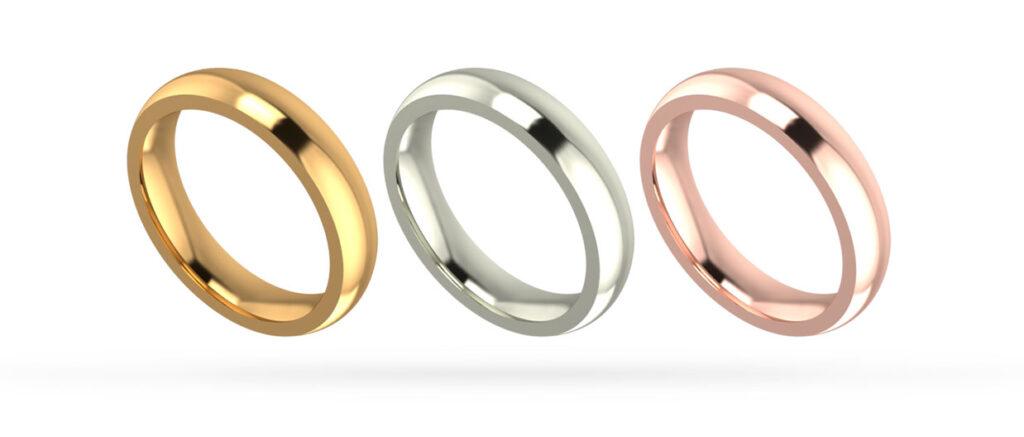 Yellow, White, Rose Gold Rings