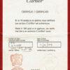 S1304 CARTIER CERT